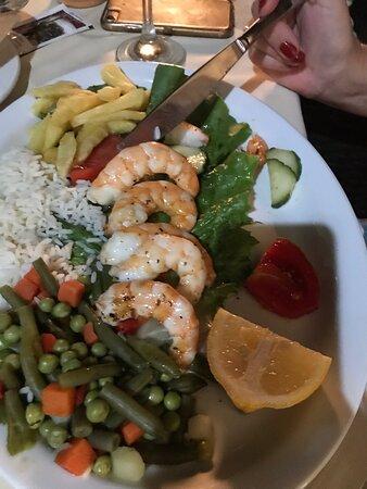 Wonderful food and setting