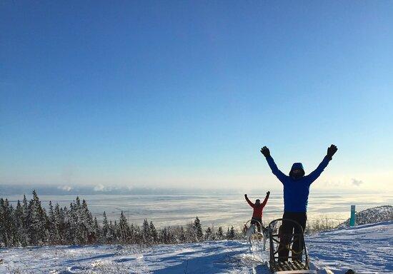 Baie-St-Paul, Canada: Les champions !