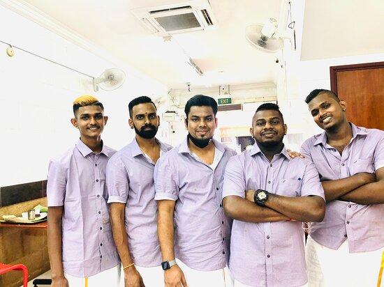 Santhi vilas team
