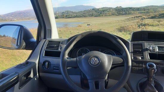 Volkswagen minivan by Day trips from Tirana
