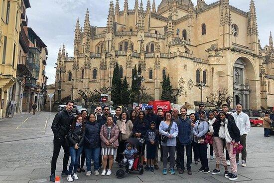 塞哥维亚和托莱多:带有大教堂和午餐选择的城堡