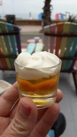Shot of brandy!