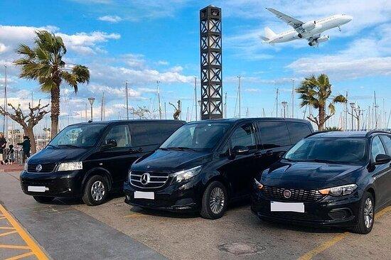 Culiacán à l'aéroport international de Culiacán (CUL) - Transfert...