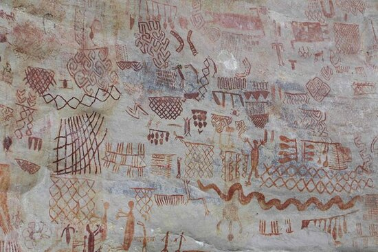 6 días de pinturas rupestres y selva amazónica