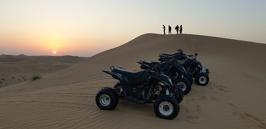 Quad bike safari Dubai