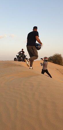 ATV ride Dubai