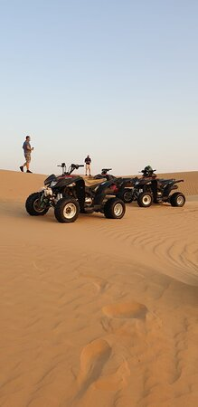 ATV desert ride dubai