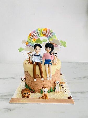 #happybirthday Khun Miin! #3d fine detail #modelling by @numfon.runjuan #birthdaycake by @anniejoobjoob @passionjoobjoob #phuketcake #bakeryphuket makestufftheneatit