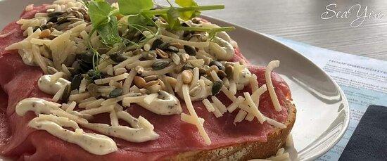 Sandwich carpaccio