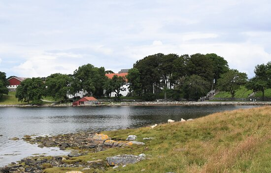 Rennesoy Municipality, נורווגיה: Kulturlandskapet rundt klosteret oser av historie.