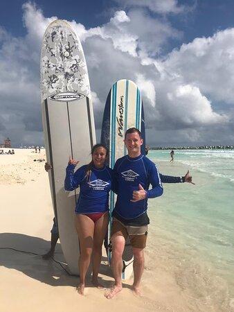 תמונה מSmall-Group Surf Lesson in Cancun with a Certified Instructor