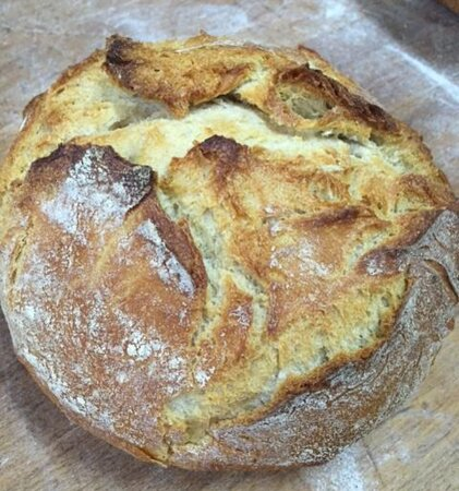 Pan de masa madre.