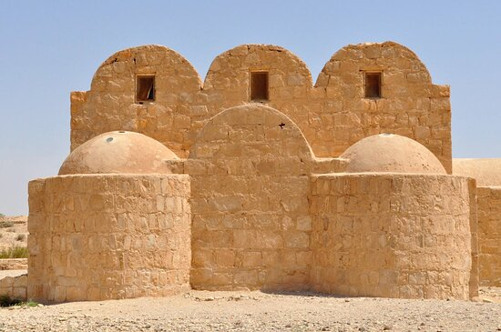 Azraq, Jordania: Quseir Amra 9