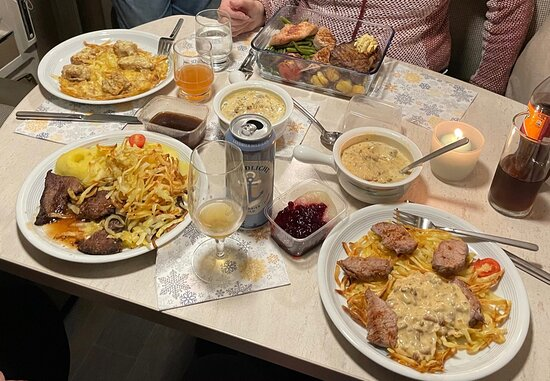 Garding, เยอรมนี: Essen im Wohnmobil