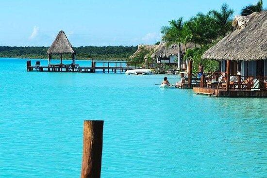 Bacalar Tour - Avganger Cancun