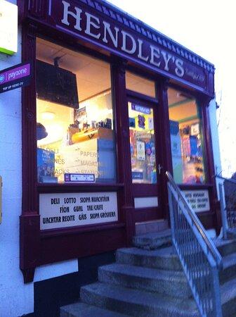 Avoca, Ireland: shop from ballykissangle