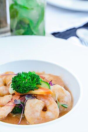 Creamy Shrimp in a Pot