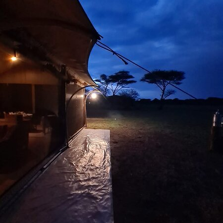 Serengeti National park Tanzania one of our campsite
