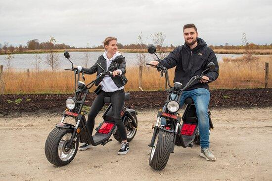 Silent Ride E-Chopper Rental Drenthe