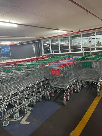 Shopping trolleys top priority parking discussed
