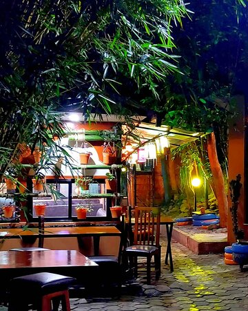 A classic newari themed restro with great ambience and natural environment covered with trees and palnts.