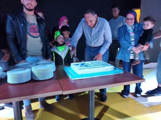 Hurghada, Egipto: Cutting the Cake