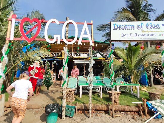 CafeDream of Goa, situated on Arambol beach, has a multicuisine bar and restaurant. Clients get to use our free WiFi and free sunbeds to enjoy the sun. They can also enjoy our happy hours cocktail drinks from 4pm to 7pm. Enjoy the sunset while enjoying your cocktail. Our specialities are sea food, Goan fish curry and fish fry, North Indian cuisines, thai cuisine, Italian cuisine like pizzas, pastas etc, Chinese cuisines, Israeli cuisine, continental cuisine. Breakfast, Lunch or Dinner etc.