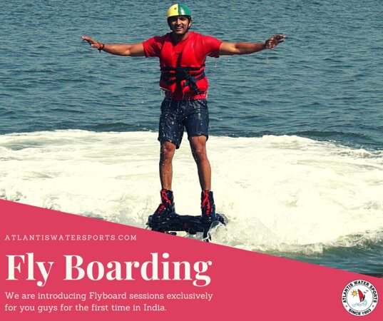 Who asked about the coolest and brightest emotions❓ Who was looking for an adrenaline rush in Goa❓ Who has long dreamed of getting an unforgettable vivid experience❓ We are here! You found us😉  Atlantis Watersports team presents the coolest adrenaline dive in Goa! 💙 Fly boarding adventure is: 🔹the ability to develop physical endurance 🔹getting new vivid impressions 🔹the best way to relieve stress and energize  https://atlantiswatersports.com/tours/flyboarding-in-goa/