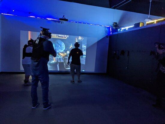 Rancho Cordova, CA: Free Roam Arena VR