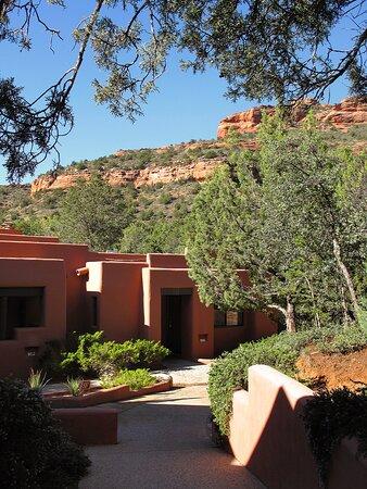 The Enchantment Resort 525 Boynton Canyon Rd, Sedona, AZ - Lovely grounds