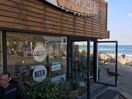Cafe on Promenade & Beach