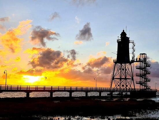 Dorum, Đức: Jeder Sonnenuntergang ein Traum