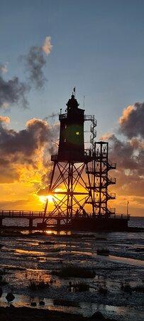 Dorum, Đức: Leuchtturm Obereversand