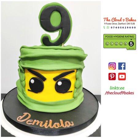Ninjago theme cake