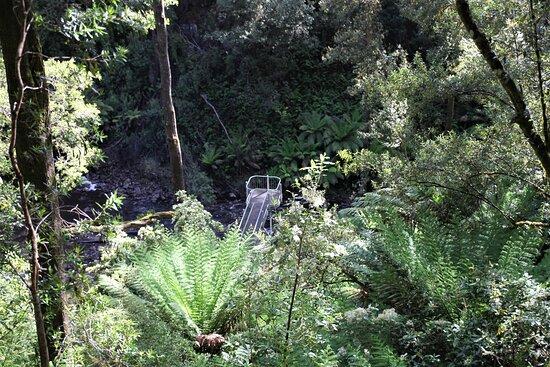 Mawbanna, Úc: Great steps and viewing platform