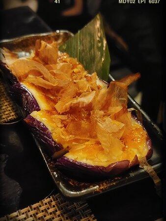 Grilled Eggplant (HK$88)