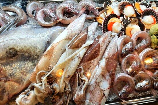 Marisco y pescado fresco