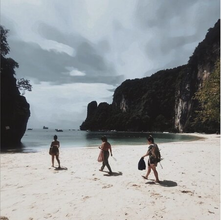 Koh Hong which is just 20 mins boat trip right opposite from the hotel. Lovely Island, highly recommended.
