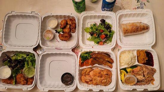 Kensington, MD: Crispy Oysters, Chicken Marsala, Turkey Dinner