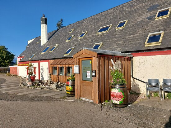 Dalwhinnie, UK: Entrance to the restaurant