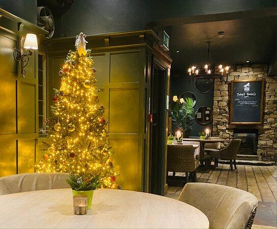 Findon, UK: Christmas 2020