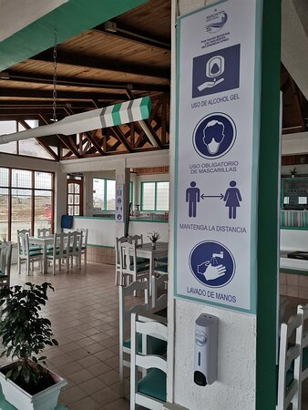 Los Vilos, Chile: Fiel Cumplimiento de las medidas sanitarias COVID 19
