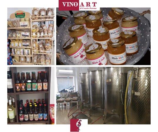 Non solo vino, ma anche prodotti tipici salentini!
