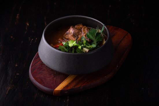 Hungary beef soup