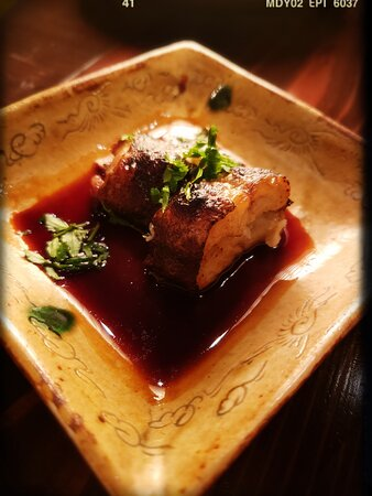 Grilled Eel with Shiso Leaves