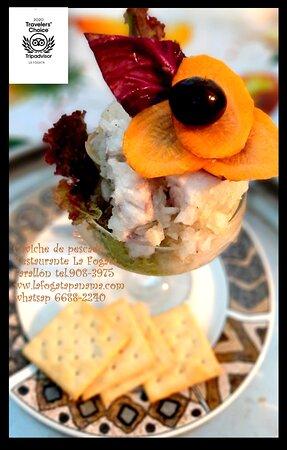 •Ceviche de pescado/ Marinated fish in lemon juice / poisson mariné au citron