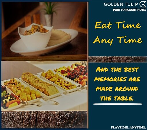 So Let's create more memories around the table. It's your favorite Sunday Brunch @goldentulipportharcourt can we just start eating already 😍😘🥱 #goldentulip #gtph #hotel #sundaybrunch #foodie