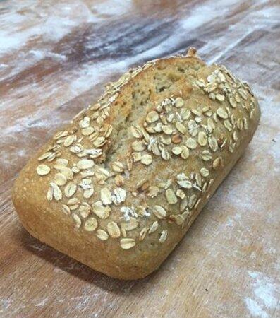 Pan de avena.
