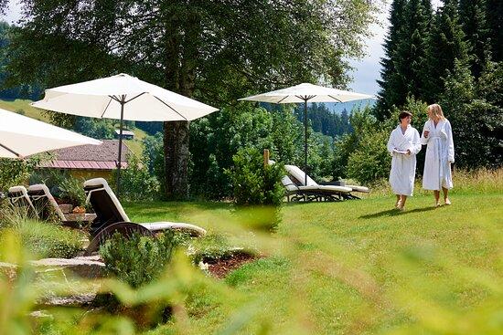 """Hotelgarten """"Grüne Oase"""""""