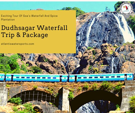 You can see many beauties of this world. But at least once in your life you should visit the most beautiful place on earth — the Dudhsagar waterfall💦  An entire trip to Goa would not be complete without visiting to this four-tiered waterfall. Thanks to Dudhsagar waterfall trip and package you can get a lot of emotions: 🔹jungle ride 🔹feeding monkeys 🔹swimming in the lake and waterfall 🔹watching at the passing train 🔹enjoy of water noise